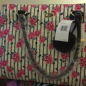 Betsey Johnson Bags - Betsy Johnson New With Tag White Weekender Bag